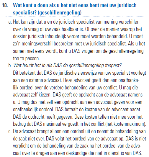 second opinion door advocaat
